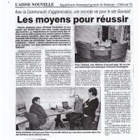 L'Aisne 2003 - Les moyens pour réussir