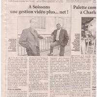L'Union, 2002 - A Soissons, une gestion vidéo plus...net