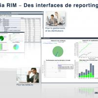 iMedia RIM - Des interfaces de reporting