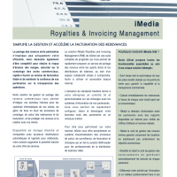 iMedia RIM - Présentation fonctionnalités