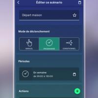 L'app ENKI facilite la création de scénarios entre les produits de marques différentes